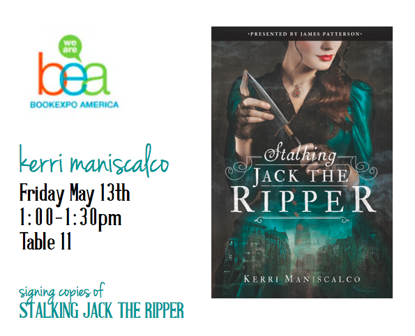 STALKING JACK THE RIPPER signing at #BEA16