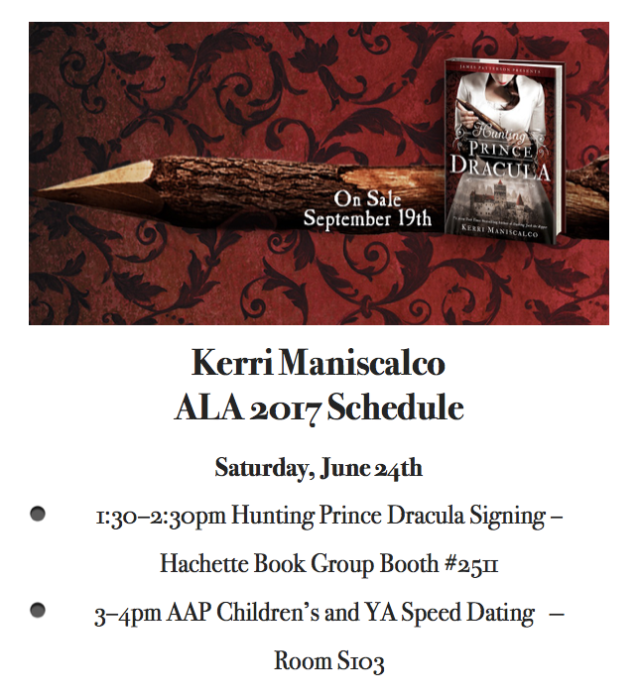 ALA 2017 Schedule