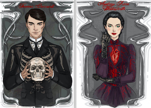 Audrey and Thomas Cards by Phantom Rin.2
